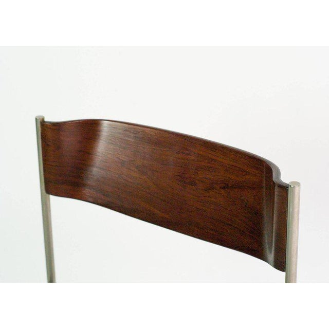 Brown Rosewood Dining Set by Cees Braakman for Pastoe For Sale - Image 8 of 10