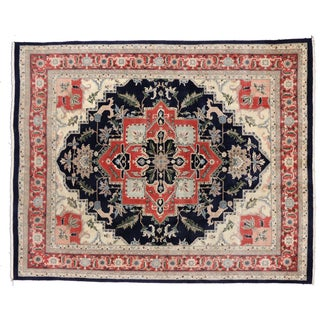 Vintage Pakistani Rug - 7′11″ × 9′10″ For Sale