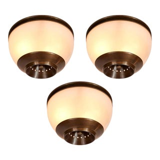1960s Luigi Caccia Dominioni Lsp3 Ceiling or Wall Light for Azucena - Set of 3 For Sale