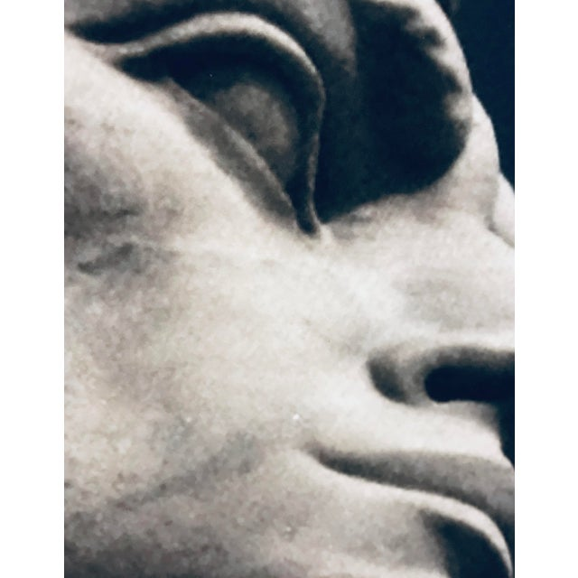 Photograph of the Statuary at the Stadio Dei Marmi in Rome by acclaimed photographer James White. The print is 20 x 24,...