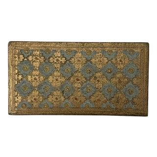 Italian Gilded Tabletop Box For Sale