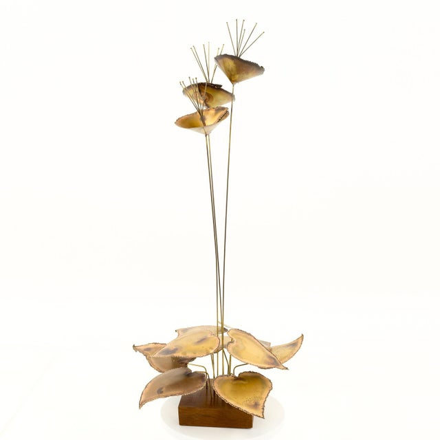 Curtis Jere Mid-Century Brass Sculpture For Sale In Chicago - Image 6 of 6