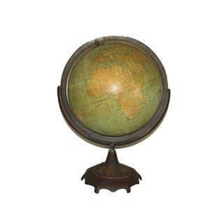 1930s Terrestrial Globe For Sale