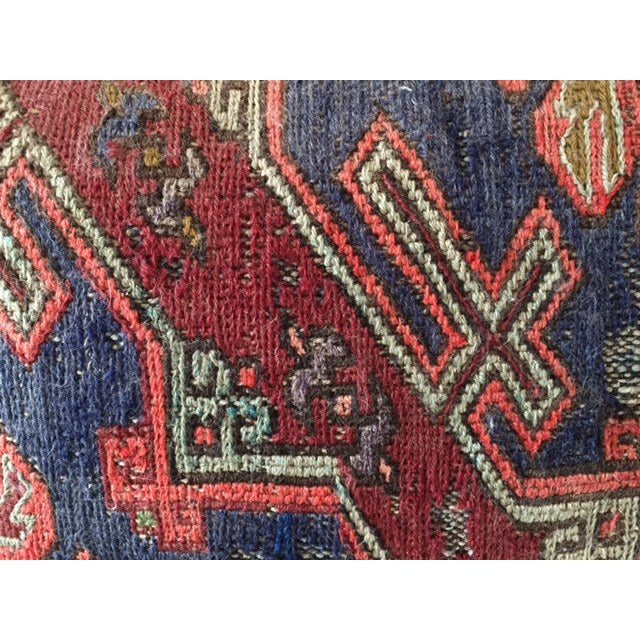 Vintage Turkish Kilim Pillow - Image 2 of 4