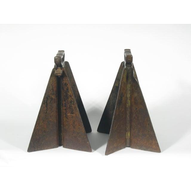 Vintage Hi-Low Steel Horses - Pair - Image 4 of 4