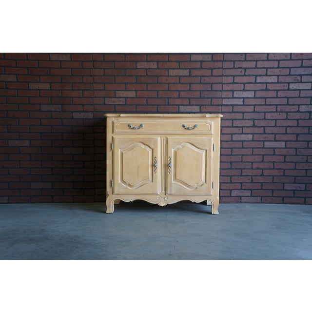 Country French Ethan Allen Server For Sale - Image 10 of 10