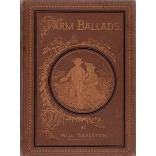 "1873 ""Farm Ballads"" Collectible Book For Sale"