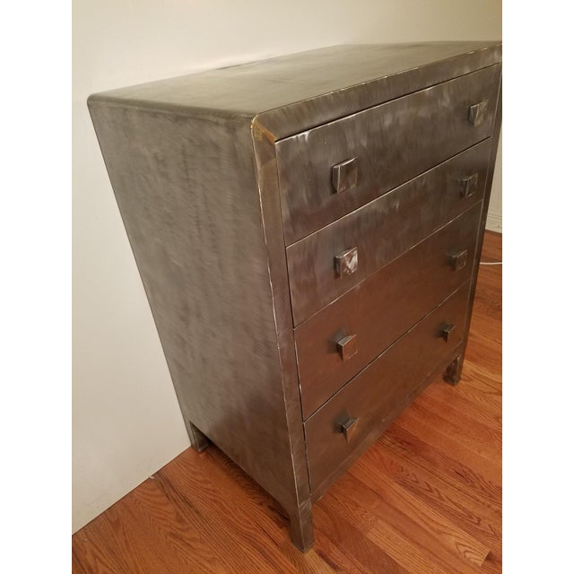 Norman Bel Geddes Metal Dresser - Image 4 of 7