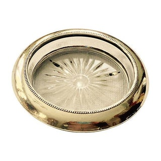 Sterling Silver Wine Bottle Coaster
