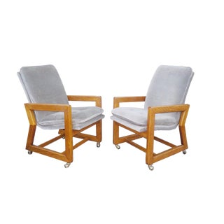 Art Deco Captains Chairs - a Pair