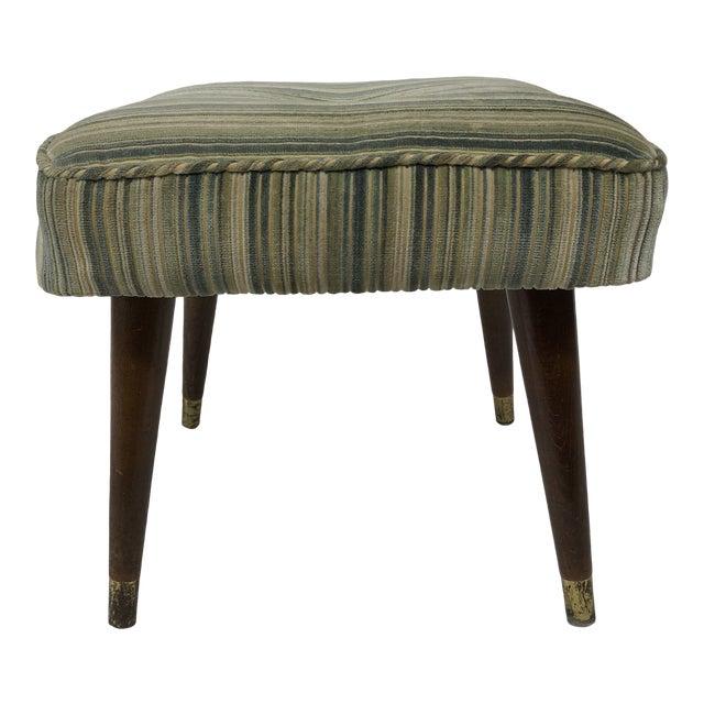 Enjoyable Mid Century Modern Upholstered Foot Stool Pdpeps Interior Chair Design Pdpepsorg