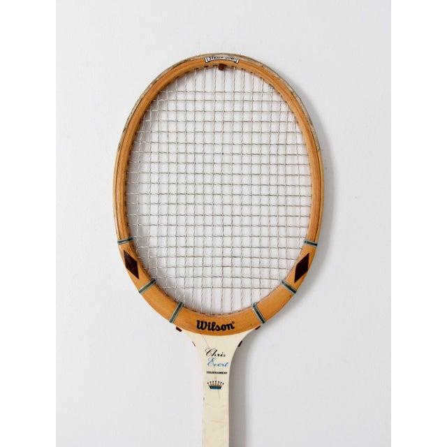 1970s Wilson Chris Evert Tennis Racquet For Sale - Image 11 of 12