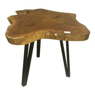 Live Edge Bistro Table For Sale