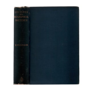 """1886 """"Lectures and Biographical Sketches"""" Collectible Book For Sale"""