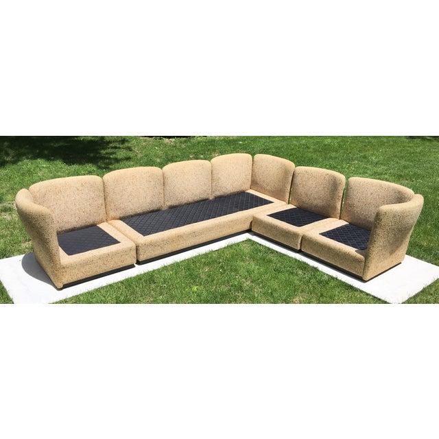 Mid Century Scandinavian Modular Sofa Sectional - Image 6 of 10