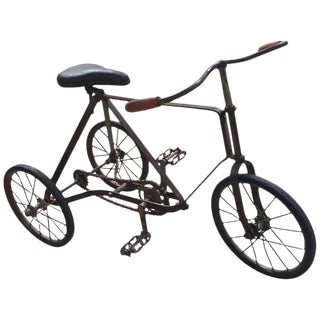 Italian Vintage Tricycle, 1930s For Sale