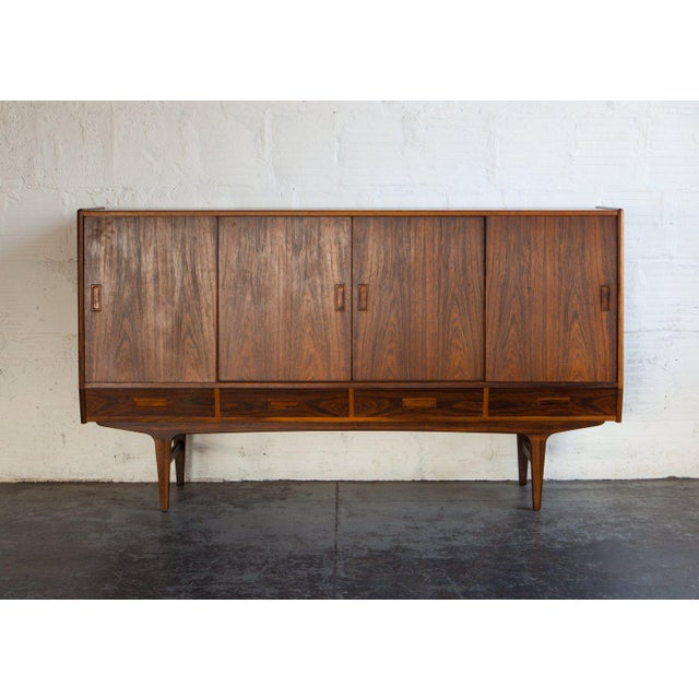1960s Swedish Rosewood Sideboard For Sale In Portland, OR - Image 6 of 13