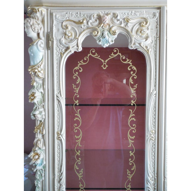 Italian Style Display Cabinet - Image 6 of 11