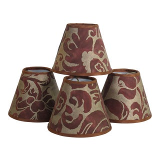 Fortuny Caravaggio Chandelier Shades - Set of 4 For Sale