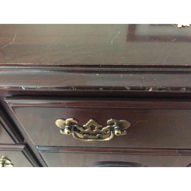 Ethan Allen Georgian Court Triple Dresser - Image 4 of 9
