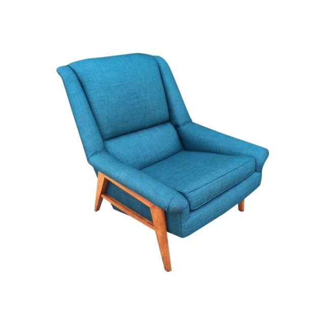 Dux Mid-Century Modern Teak Lounge Chair For Sale