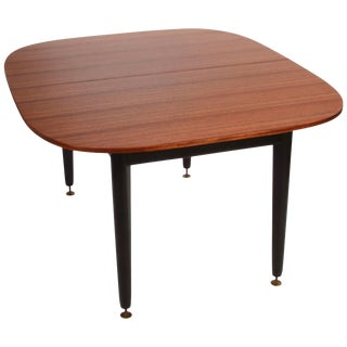 Early G-Plan Dining Table by E Gomme in Mahogany and Black For Sale