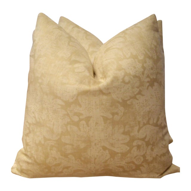 Ralph Lauren Antibes Batik Pillow - A Pair For Sale