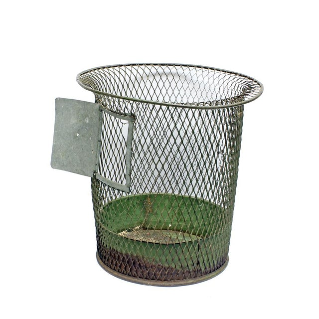 1930s Nemco Wire Wastebasket - Image 2 of 3