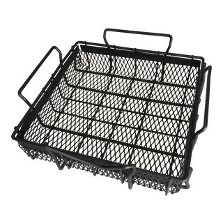Vintage Industrial Wire Tray For Sale