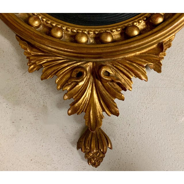 La Barge Federal Style Convex Mirror by LaBarge For Sale - Image 4 of 10