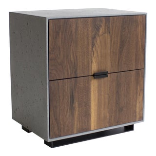 Hanks Concrete Nightstand For Sale