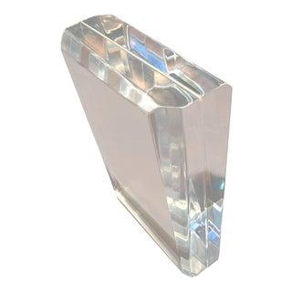 Tasca Italy Lucite Prism Sculpture