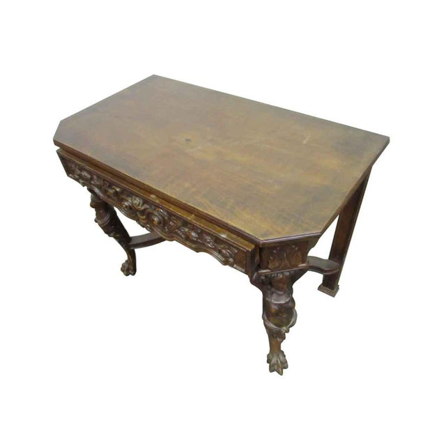 Bear Claw Wooden Console Table For Sale - Image 9 of 10