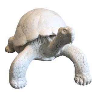 Tozai Home Galapagos Tortoise Plaster Figure For Sale