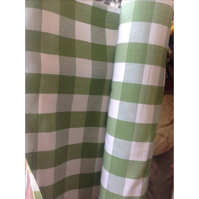 Ralph Lauren Green Bedford Gingham - 5 Yards - Image 4 of 4