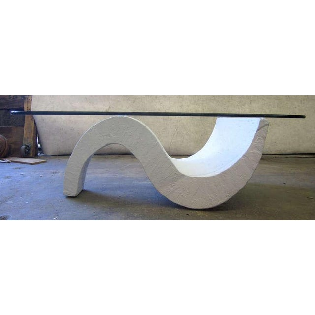 S-Base Concrete Coffee Table - Image 3 of 5