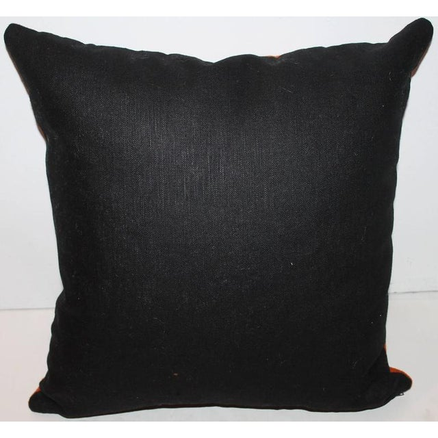 Fantastic Chimayo Weaving Pillow For Sale - Image 4 of 6