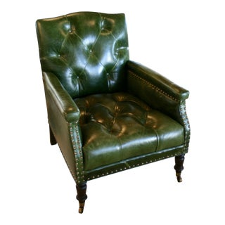 Cisco Brothers Gallant Green Chair For Sale