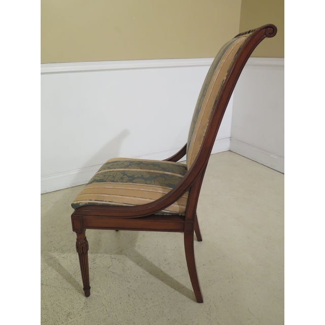 Vintage Karges French Louis XVI Style Dining Room Chairs- Set of 10