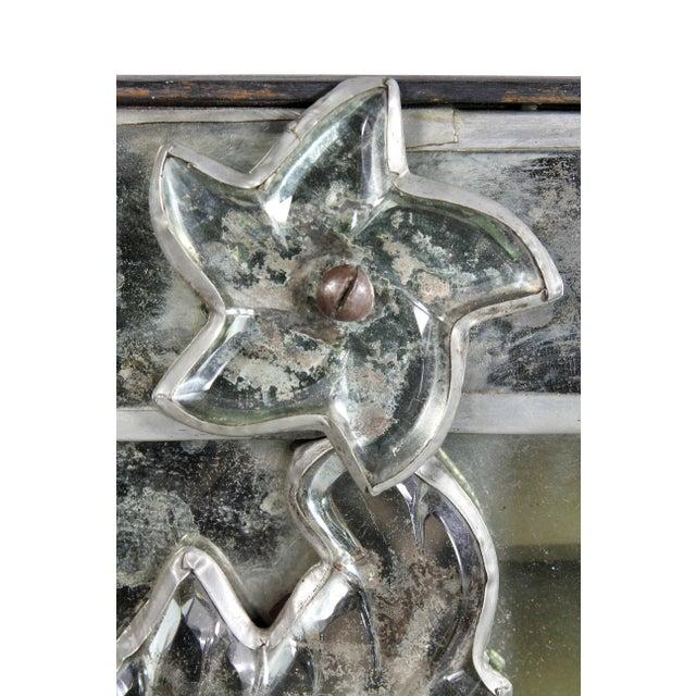 Venetian Glass Mirror For Sale In Boston - Image 6 of 8