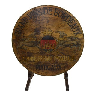 Mid-19th Century French Wine Tasting Table For Sale