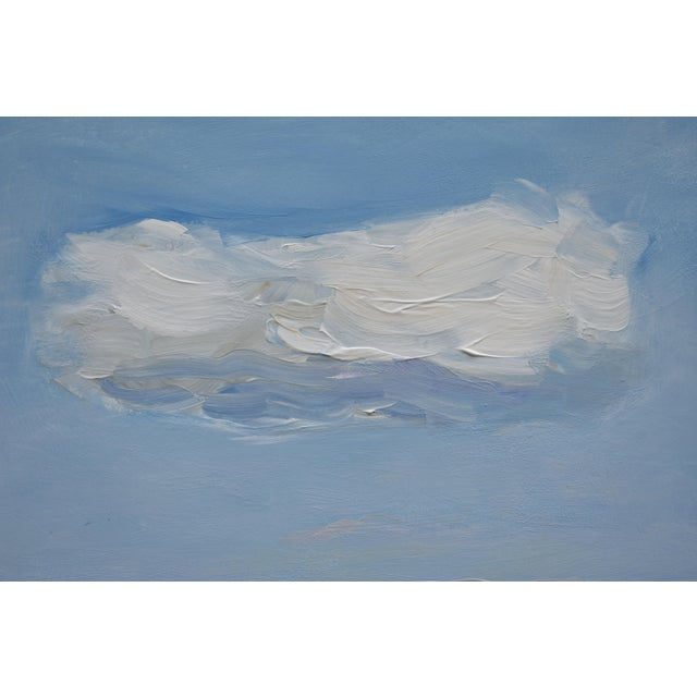 Contemporary Cloud Study 'Float' Contemporary Painting by Stephen Remick For Sale - Image 3 of 8