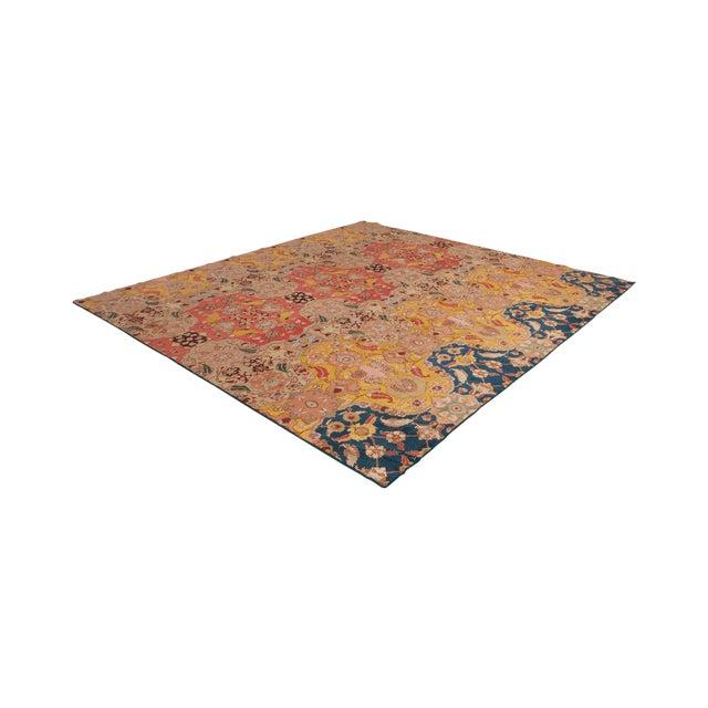 Agra Carpet in Wool & Silk For Sale