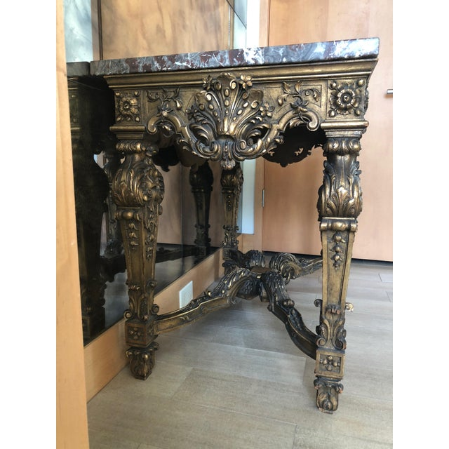Baroque Louis XIV Style Gran Baroque Table For Sale - Image 3 of 9