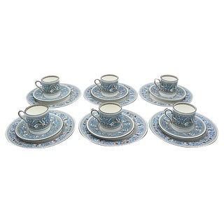 Wedgwood Florentine Espresso & Cake 18pc For Sale
