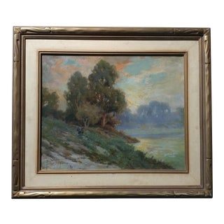 Angel Espoy Impressionist California Landscape Panting For Sale
