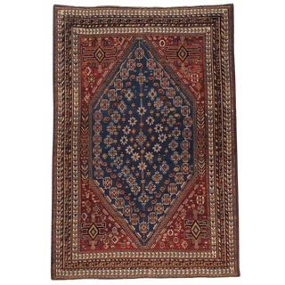 Antique Qashqai Rug For Sale