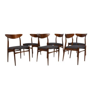 Set of Six Danish Mid-Century Modern-Style Dining Chairs