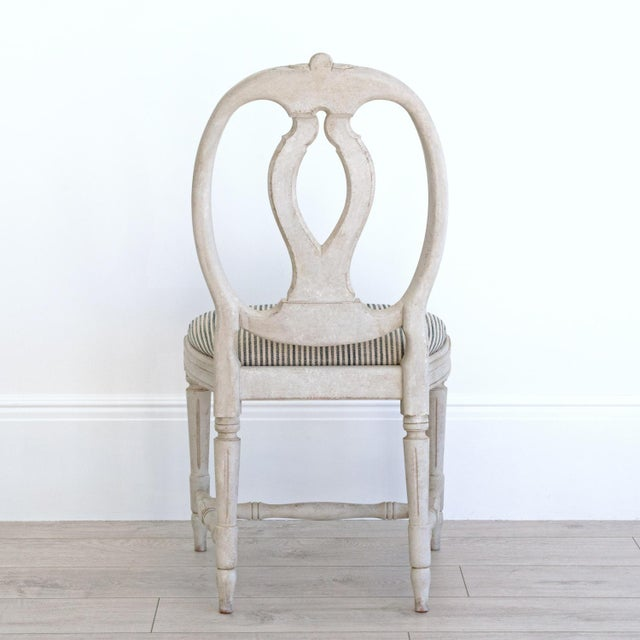 Georgia Lacey Bespoke Sköld Gustavian Dining Chair For Sale - Image 4 of 8