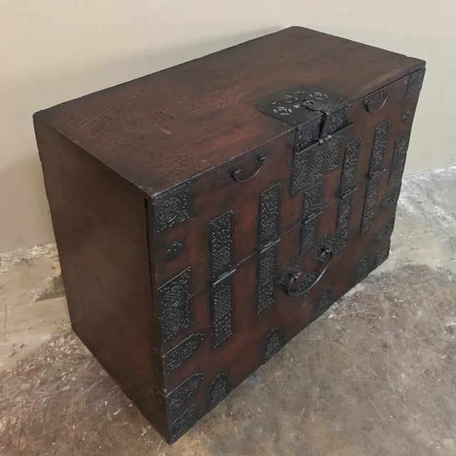 19th Century Chinese Cabinet ~ Trunk For Sale - Image 4 of 13